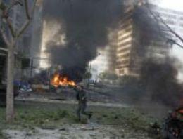 Beyrut'un güneyinde şiddetli patlama