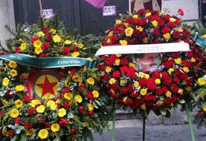 PKK'dan ayrı Öcalan'dan yarı çelenk