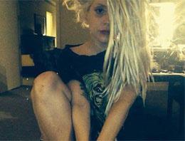 Lady Gaga'nın selfieleri dikkat çekti