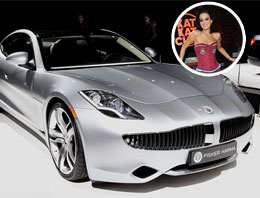 Katy Perry'nin 300 bin euroluk arabası