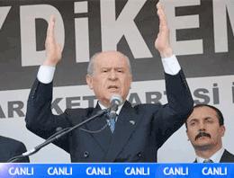 Bahçeli'den Erdoğan'a cumhurbaşkanlığı çıkışı