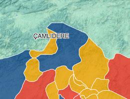 Ankara Çamlıdere seçim sonuçları 2014