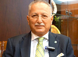 Ekmeleddin İhsanoğlu'na ofis kuruldu