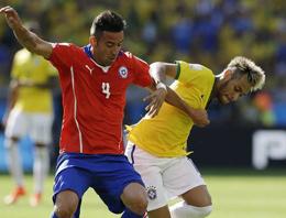 Brezilya-Şili maç özeti ve golleri (Dünya Kupası 2014)