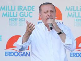 Erdoğan Köşk'e çıkarsa ilk işi o olacak!