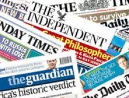 16 Temmuz İngiltere Basın Özeti