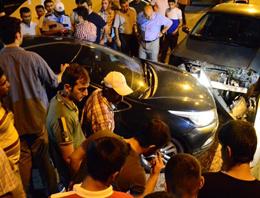 Bakan Şimşek'in konvoyunda kaza