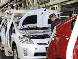 Toyota da üretime ara verdi