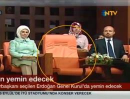 Erdoğan'ın yemini! Boş kalan koltuk kimin?