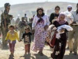 Kobani: IŞİD'den kaçan Suriyeli Kürtlerin sayısı '60 bini geçti'