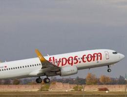 Kapadokya'ya inen uçak paniğe neden oldu!