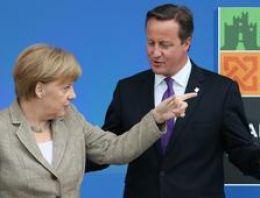 Merkel'den İngiltere'ye AB resti