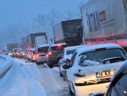 Yol durumu İstanbul İzmir D 100 yolu son durum