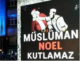 'Müslüman Noel Kutlamaz'a para cezası geldi