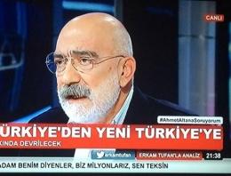 Ahmet Altan'dan AK Parti kehenati: Yıkılacak!