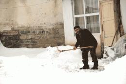 Hava durumu nisan ortasında kar var!