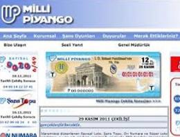 Milli Piyango şans oyunları çekiliş sonuçları