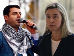Avrupa'dan Demirtaş'a PKK için tepki