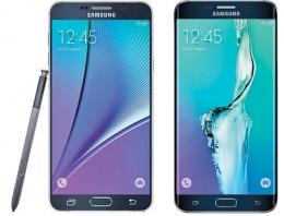 Galaxy Note 5 ve S6 Edge ortaya çıktı