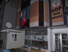 HDP binasına saldıranlar ülkücü değil!