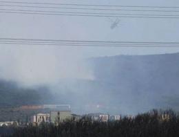 Tuzla Piyade Okulu'nda yangın çıktı!