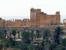 Şam'dan Palmyra'ya hava operasyonu