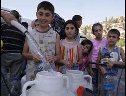 Ankara su dağıtımı yapıyor