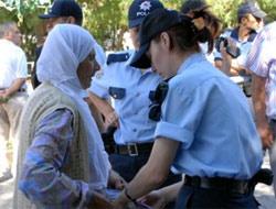 Kadın polisler 2 santimle rekor kıracak!