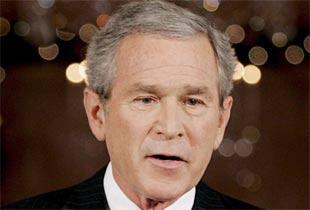 Bush Iraka destek istedi