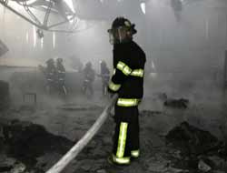 Ankara'da üst geçiti yaktılar mı?