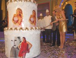 Dinçöze 1 tonluk pasta