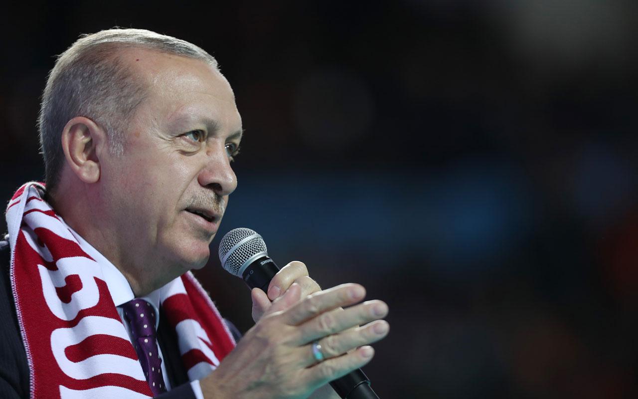 Erdoğan: Kene gibi yapışanlara fırsat vermeyeceğiz'