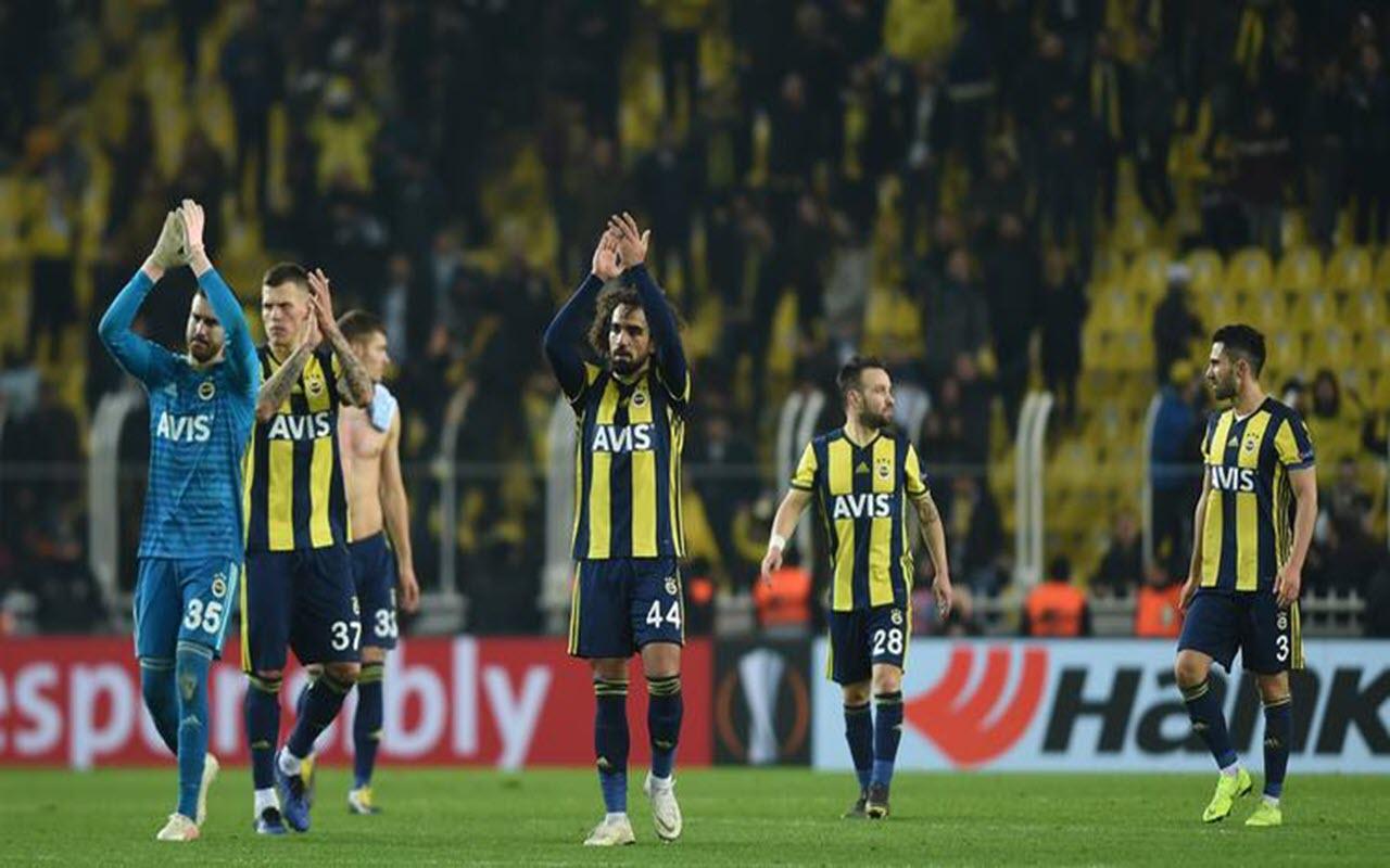 Fenerbahçe Zenit UEFA Avrupa Ligi maçından kareler