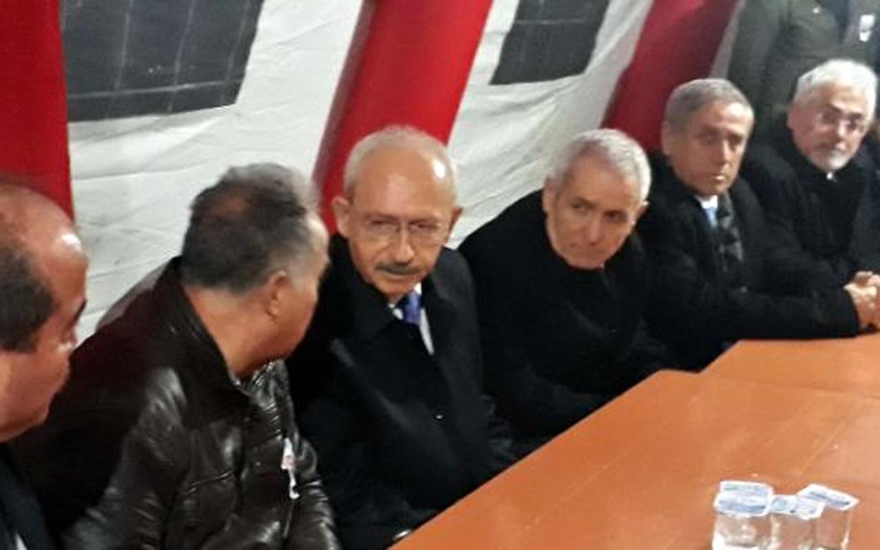 Kılıçdaroğlu'ndan şehit Özcan'ın ailesine ziyaret