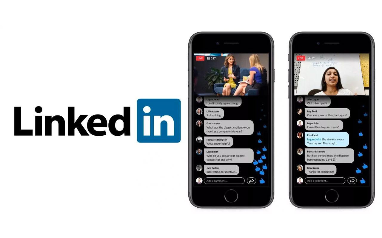LinkedIn canlı yayın platformunu tanıttı