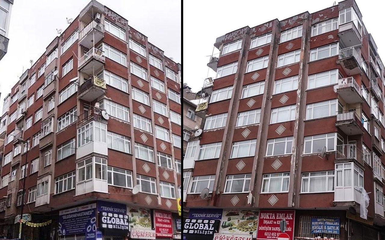 İstanbul Bahçelievler'de 7 katlı bina boşaltıldı!
