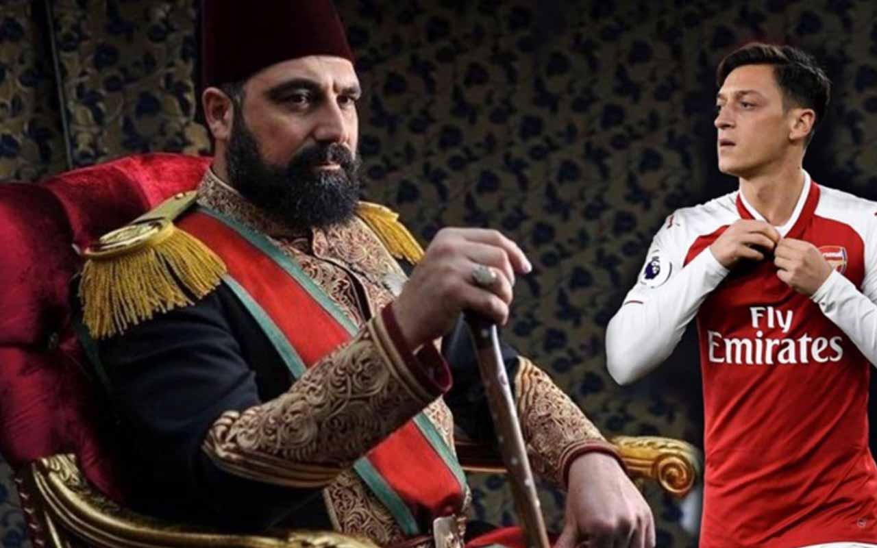 """Mesut Özil'den """"Payitaht: Abdülhamid"""" paylaşımı"""