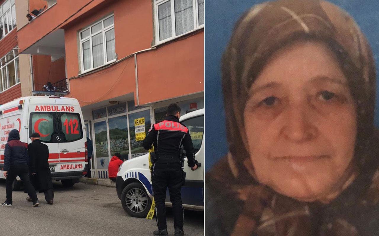 Sultanbeyli'de korkunç olay! Yaşlı kadının elbiseleri bir anda alev aldı
