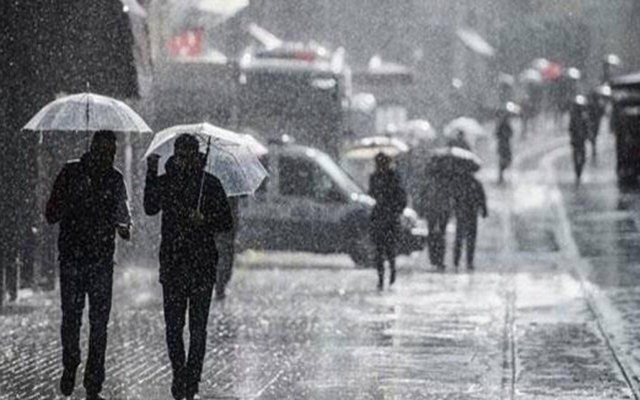 Meteoroloji'den son dakika uyarısı! Marmara'da fırtına ve sağanak yağış