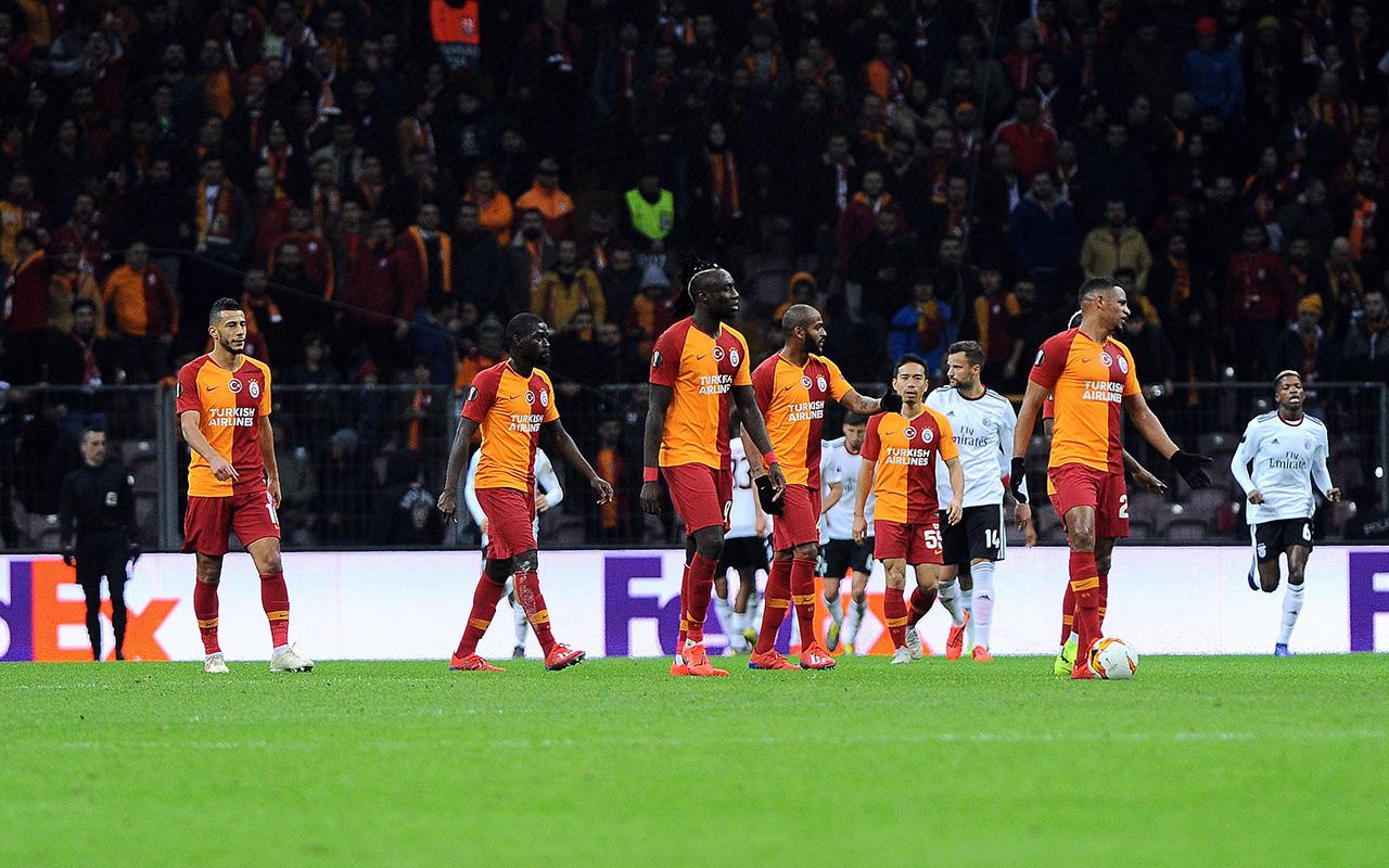 Galatasaray Benfica UEFA Avrupa Ligi maçı golleri ve geniş özeti