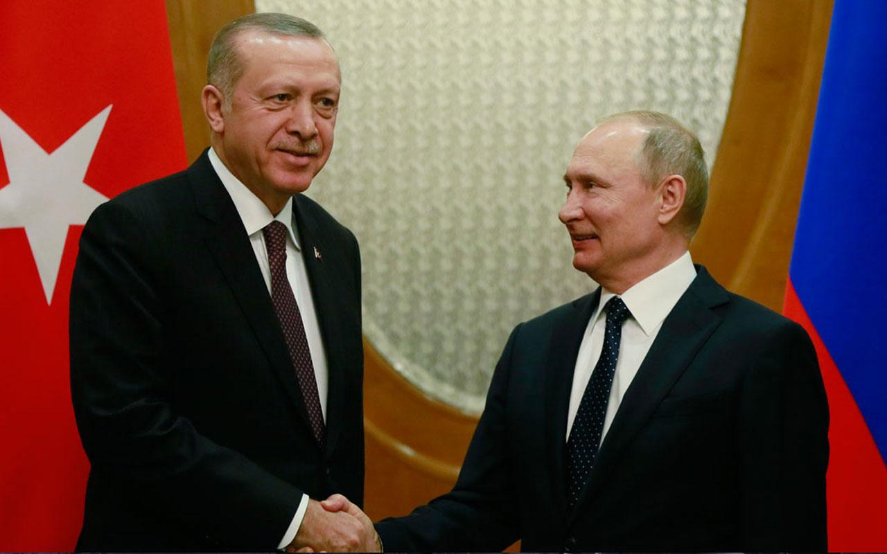 Erdoğan-Putin görüşmesinde flaş YPG vurgusu