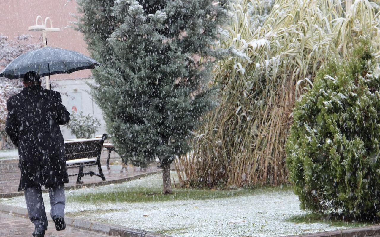 Bilecik kar başladı 5 günlük hava durumu raporuna bakın