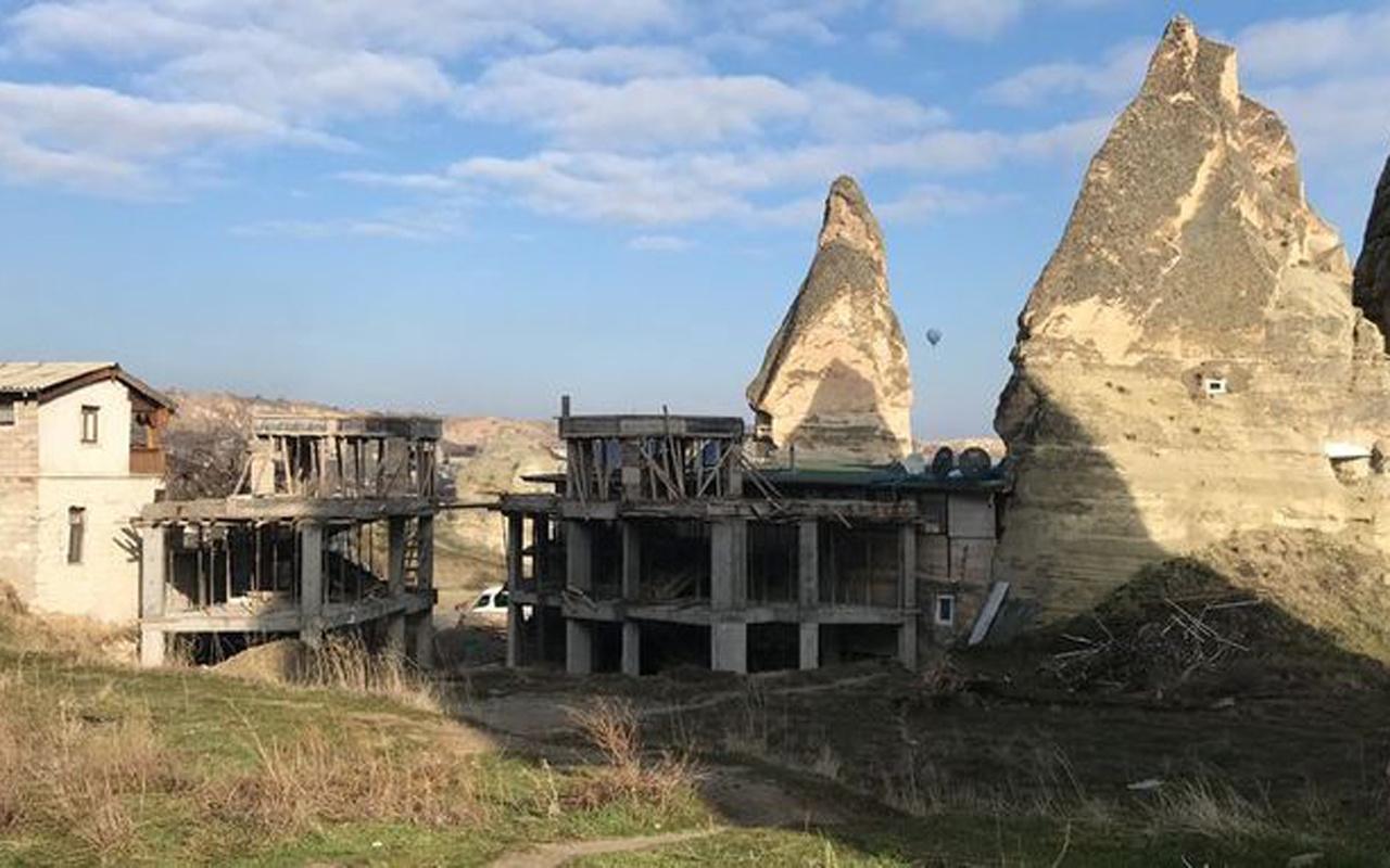 Bakanlık açıkladı Göreme'deki evler yıkılacak