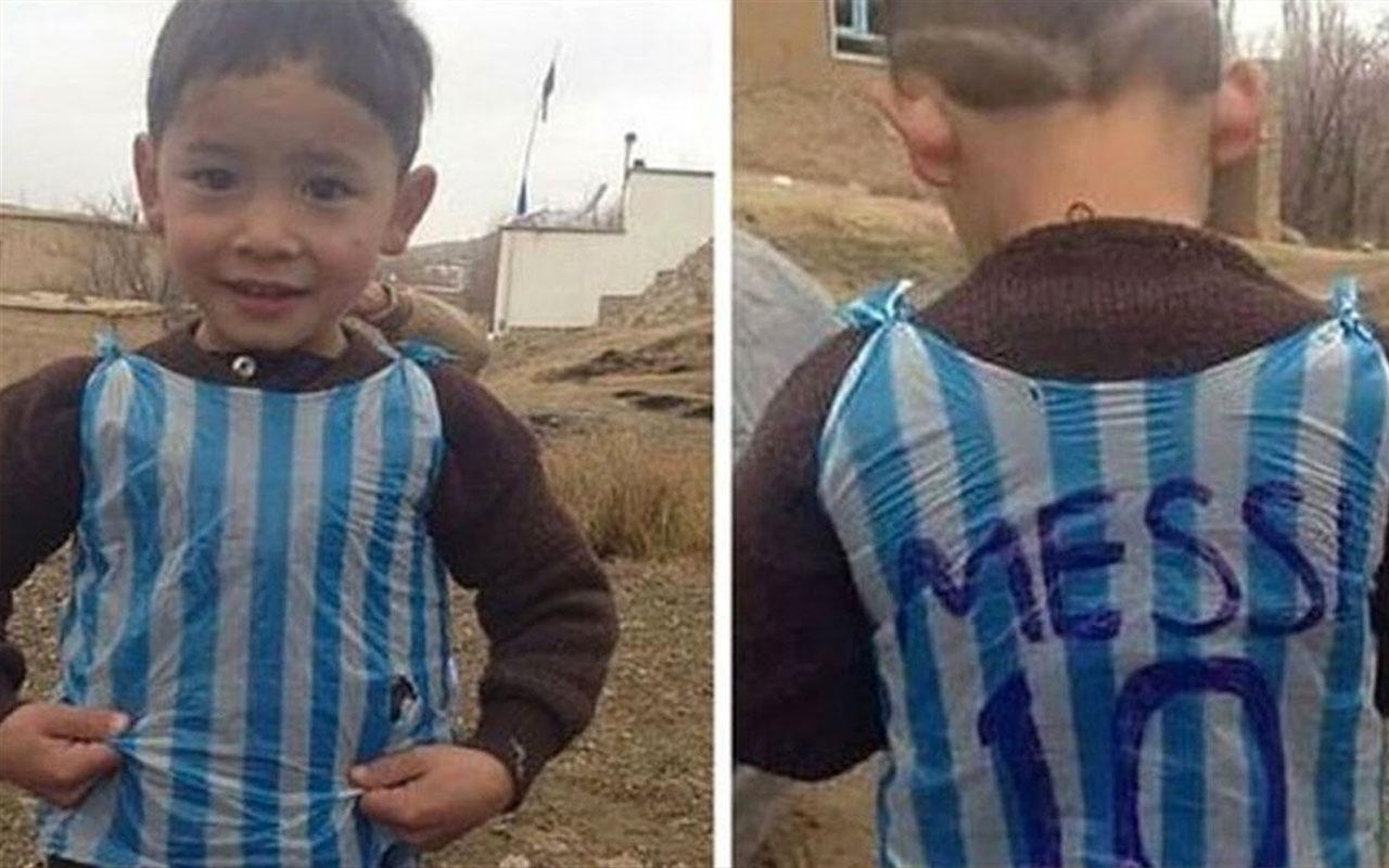 Poşet formalı Messi'nin annesi konuştu: Taliban oğlumun peşinde