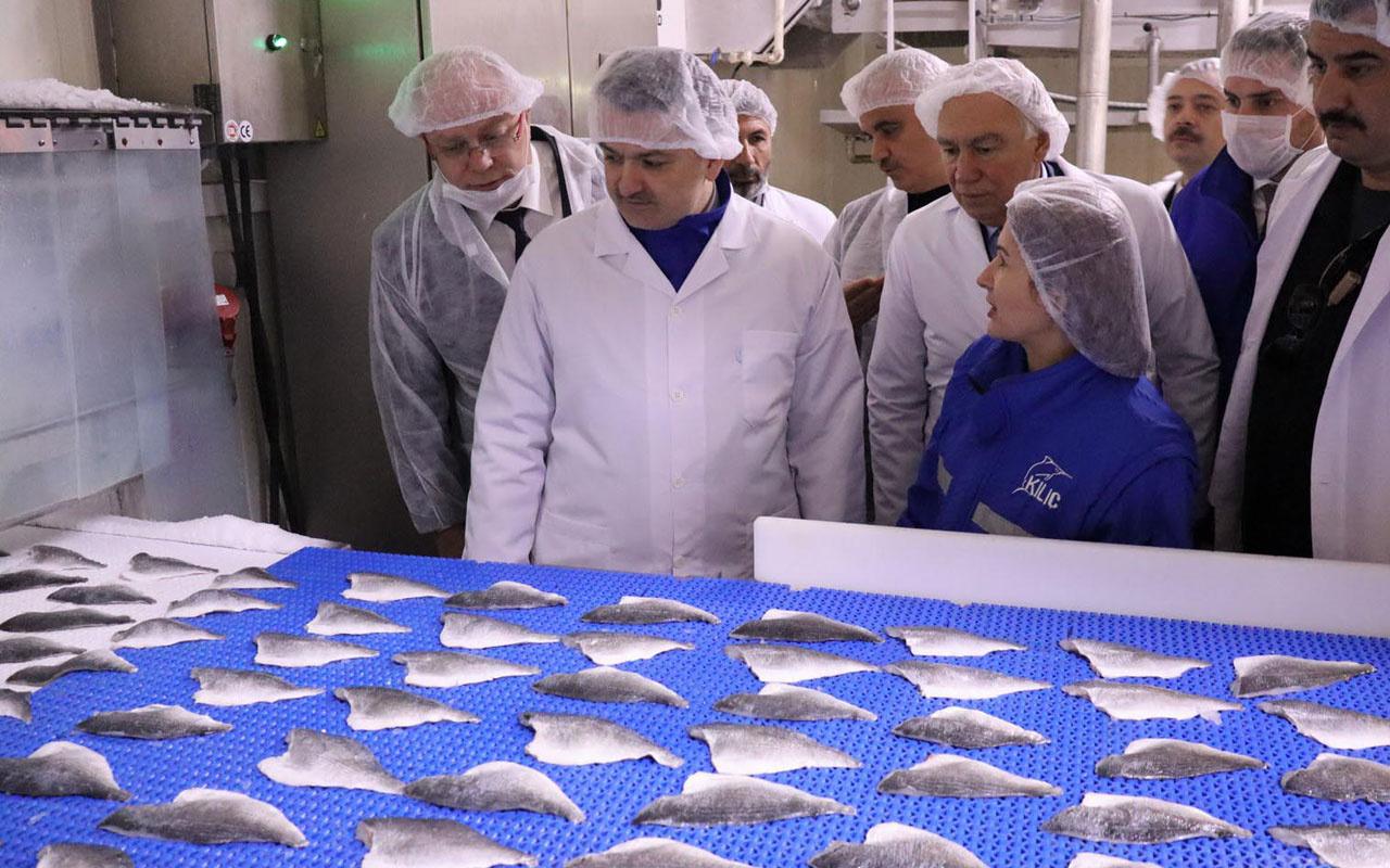 Bakan Ekrem su ürünleri ihracatında hedefi açıkladı