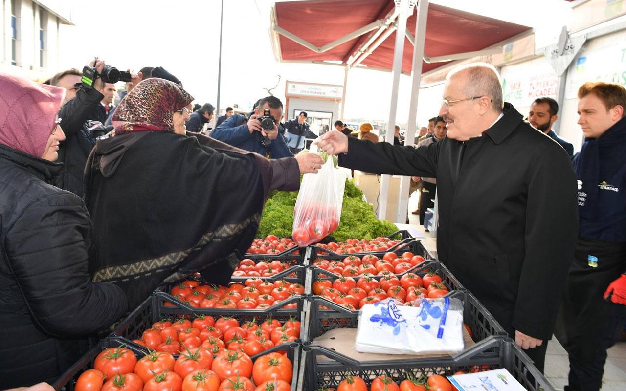 Balıkesir'de ve Bursa'da tanzim satış noktası açıldı