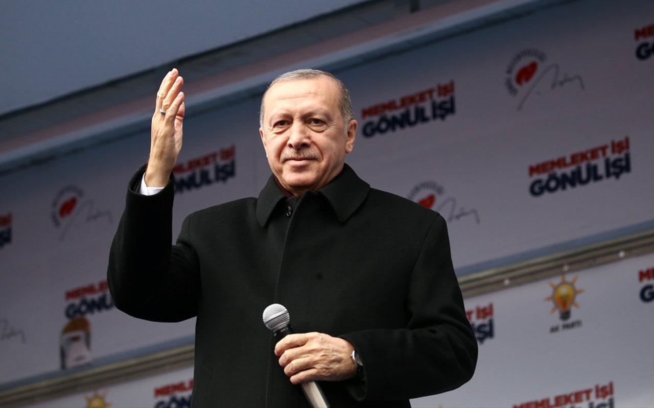 Cumhurbaşkanı Recep Tayyip Erdoğan Edirne'de müjdeyi verdi