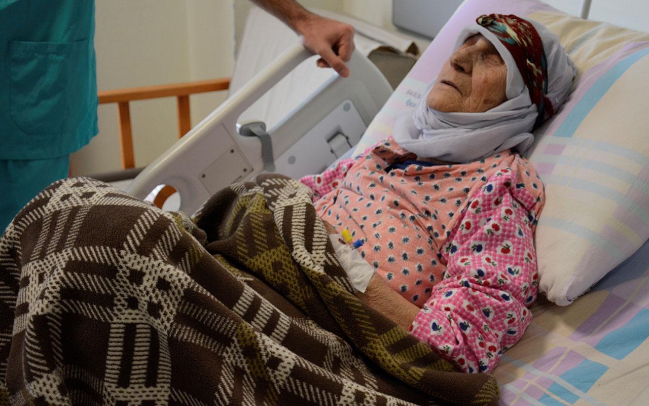87 yaşında kolon kanserini yendi