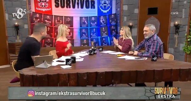 Survivor Nagihan ile Sema canlı yayında birbirine girdi