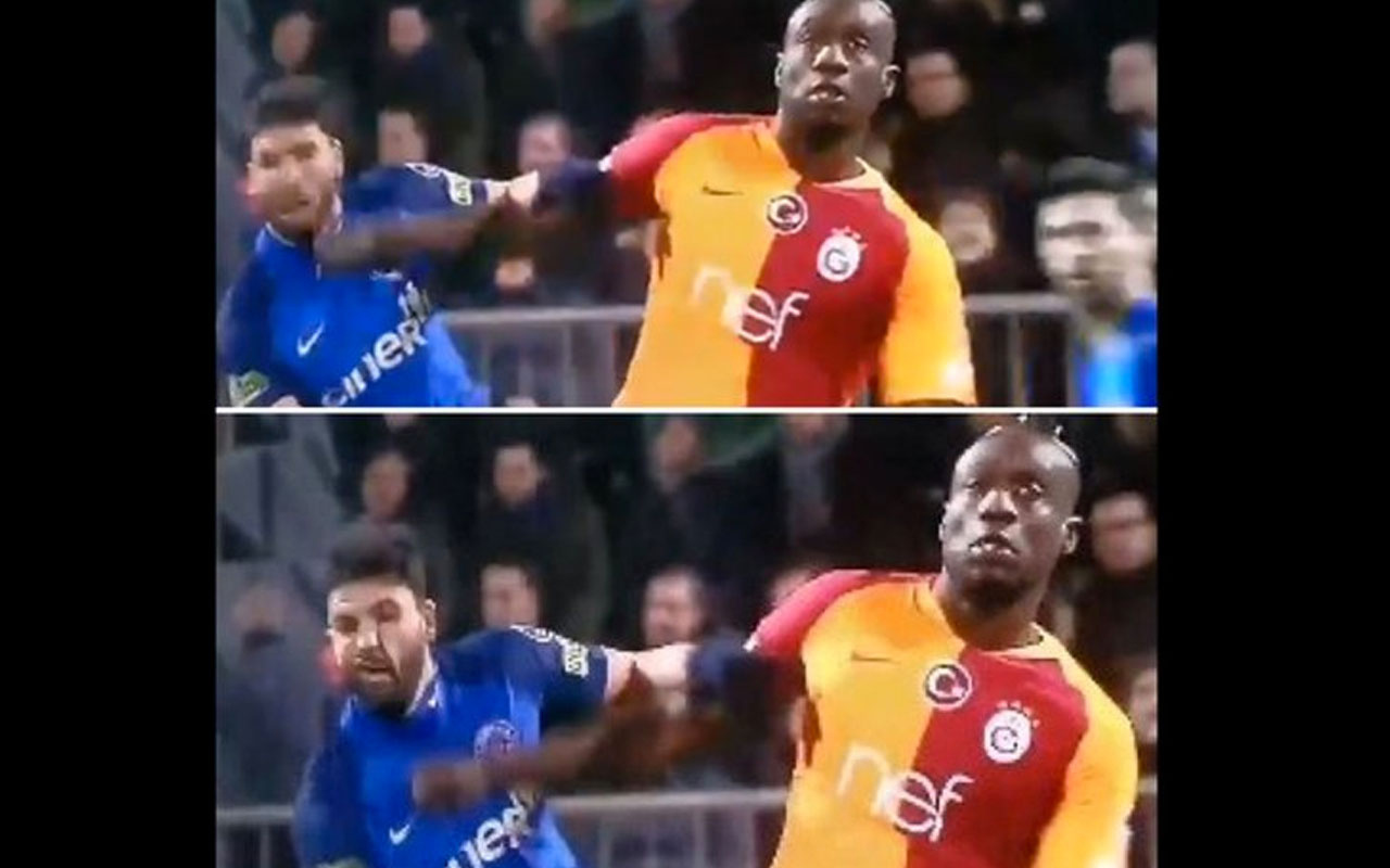 Kasımpaşa - Galatasaray maçında tartışma yaratan pozisyon!
